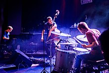 "GoGo Penguin performing at ""Porgy & Bess"" in Vienna on 2018-11-01."
