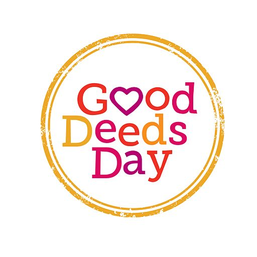 Good Deeds Day logo english