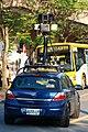 Google Street View camera car on Songlian Rd., Taipei 20090209 01.jpg