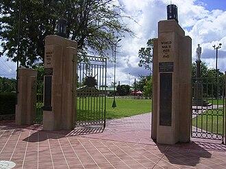 Goondiwindi War Memorial - War Memorial Gates, 2009