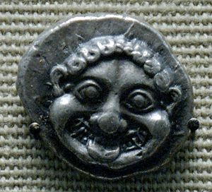 Gorgoneion - Image: Gorgon didrachm British Museum