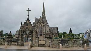 Gouesnou - The church in Gouesnou