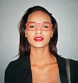 Gracie Carvalho with red glasses (cropped).jpg