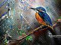Graffiti in Shoreditch, London - Kingfisher by Paul Don Smith (9425008554).jpg