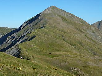 Gramos - The south face of the mountain