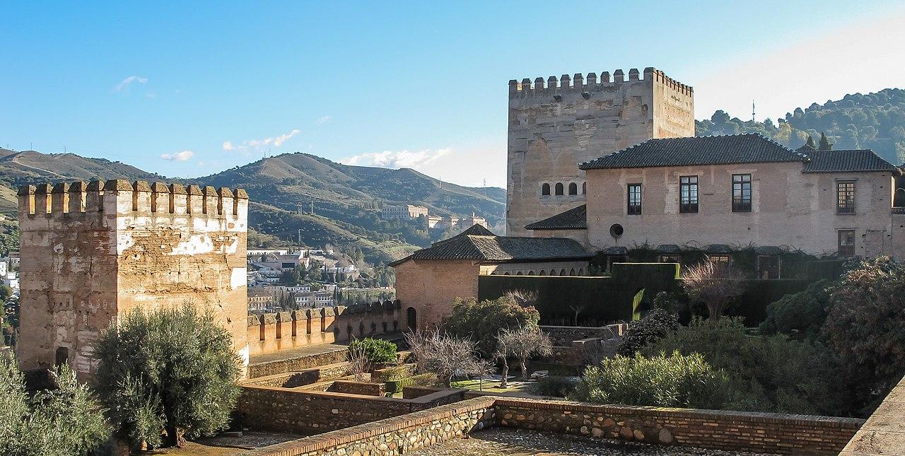 File granada spain alhambra palacio de comares - Banos arabes palacio de comares ...