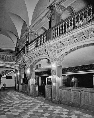 Grand Riviera Theater - Image: Grand Rivera Foyer 1970