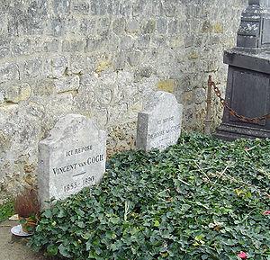 Auvers-sur-Oise - Image: Grave of Vincent van Gogh