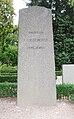 Grave of professor PJH Leander klosterkyrkogården, Lund, Sweden.jpg