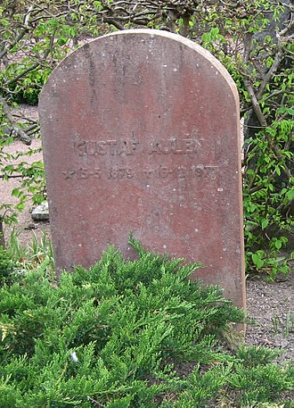 Gustaf Aulén - Gustaf Aulén's grave in Lund, Sweden