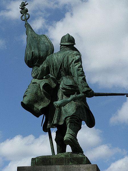 Great War Monument in Wijnegem near Antwerp