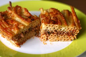 Pastitsio - Greek pastitsio