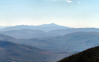 Green Mountains - Green Mountains looking south from Jay Peak