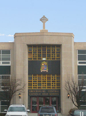 Greensburg Central Catholic High School - Image: Greensberg CC