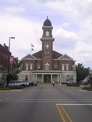 Greenville, Alabama - Butler County Courthouse in Greenville