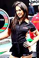 Grid Girl at the A1GP promotion in London's Regent Street.jpg