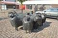 Groep schapen Arie Teeuwisse Sartreweg Veemarkt Utrecht v1.jpg