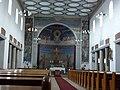 Groesbeek (NL) De Horst, Goddelijk Hart van Jezuskerk (05) interieur.JPG