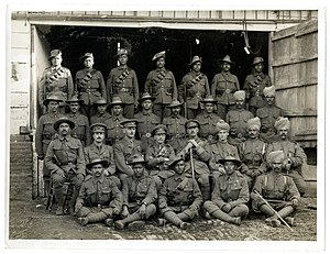 I Corps (British India) - A group of soldiers from the Indian Corps who had been mentioned in dispatches during fighting on the Western Front