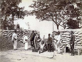 Revolta da Armada - Brazilian Army fortification, 1894