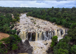 Gundichaghagi Waterfall, Keonjhar During monsoons.png