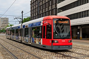 Flexity Classic - Image: HB 2016 0607 photo 28 tram at Domsheide