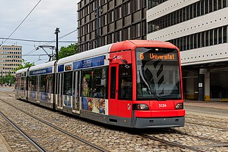 Flexity Classic - Image: HB 2016 0607 photo 28 tram at Domsheide