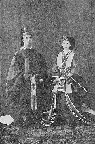 Prince Kaya Tsunenori - Image: HIH Kaya Tsunenori and consort Toshiko 2