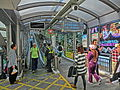 HK Central Escalators interior visitors n Security staff at 10am changing everyday Oct-013 (1).JPG