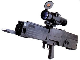 Heckler & Koch G11 Caseless ammunition assault rifle prototype