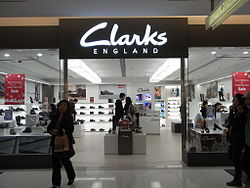 HK TST K11 mall 40 shop Clarks London footwear.JPG