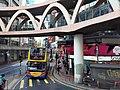 HK tram 64 view CWB 銅鑼灣 Causeway Bay 怡和街 Yee Wo Street ring shape footbridge November 2019 SS2 08.jpg