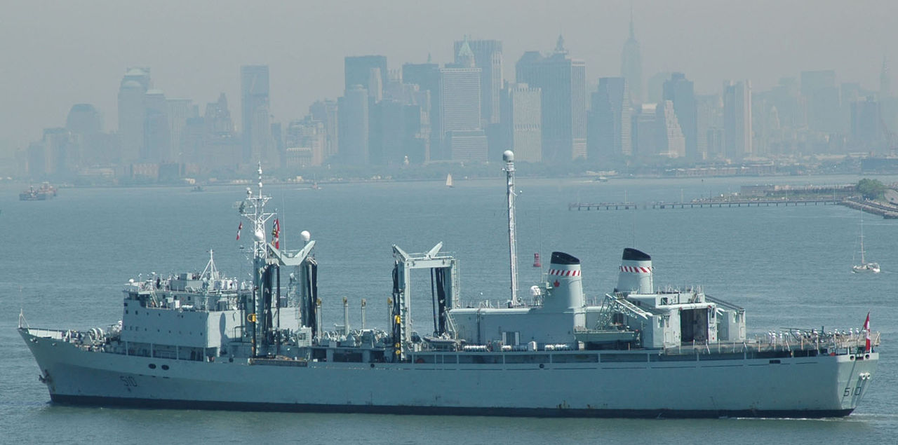 HMCS Preserver during New York fleet week 2009