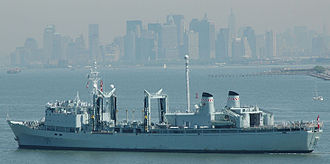 Auxiliary ship - Image: HMCS Preserver (AOR 510)