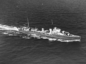 HMS Hereward (H93) - Image: HMS Hereward (H93) underway on 20 December 1939