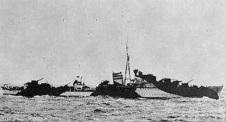 Attack on Convoy BN 7 - Image: HMS Kimberley