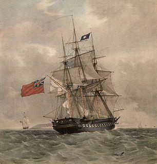 HMS <i>Pomone</i> (1805) Leda-class fifth-rate frigate