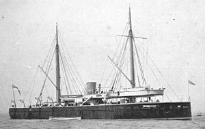 Turret ship - HMS ''Prince Albert'', a pioneering turret ship, built by naval engineer Cowper Phipps Coles.