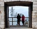 HMS Richmond Returns to Portsmouth from the Gulf MOD 45150484.jpg