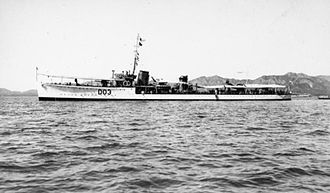 S-class destroyer (1917) - HMS Sepoy serving with the 8th Destroyer Flotilla on the China Station, c. 1930