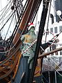 HMS Surprise (replica ship) figurehead 2009-12 1.JPG