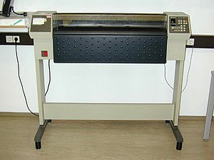 Plotter - Hewlett-Packard A0 Plotter 5785B