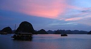 Quảng Ninh Province - Hạ Long at sunset