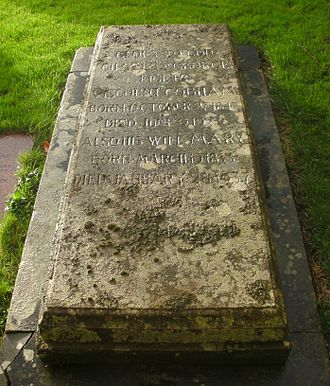 Charles Lyttelton, 8th Viscount Cobham - St John the Baptist Church, Hagley, grave of Charles Lyttelton, 5th Baron Lyttelton and 8th Viscount Cobham.
