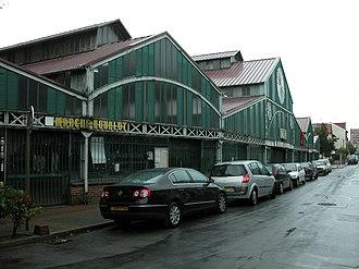 Fontenay-sous-Bois - Image: Halles Roublot Fontenay