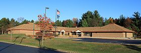 Hamburg Township Michigan Township Hall.JPG