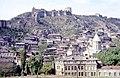 Hammond Slides Tbilisi, old town and Narikala fortress.jpg