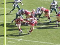 Handoff to Frank Gore at Eagles at 49ers 10-12-08 2.JPG