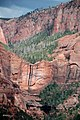 Hanging valley & Navajo Sandstone (Lower Jurassic; Timber Top Mountain, Kolob Canyons, Zion National Park, Utah, USA) 4 (8425015248).jpg