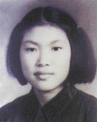 Hao Jianxiu - Hao Jianxiu in the 1950s